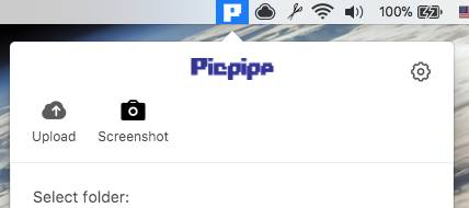 Picpipe Take screenshot or upload photos.