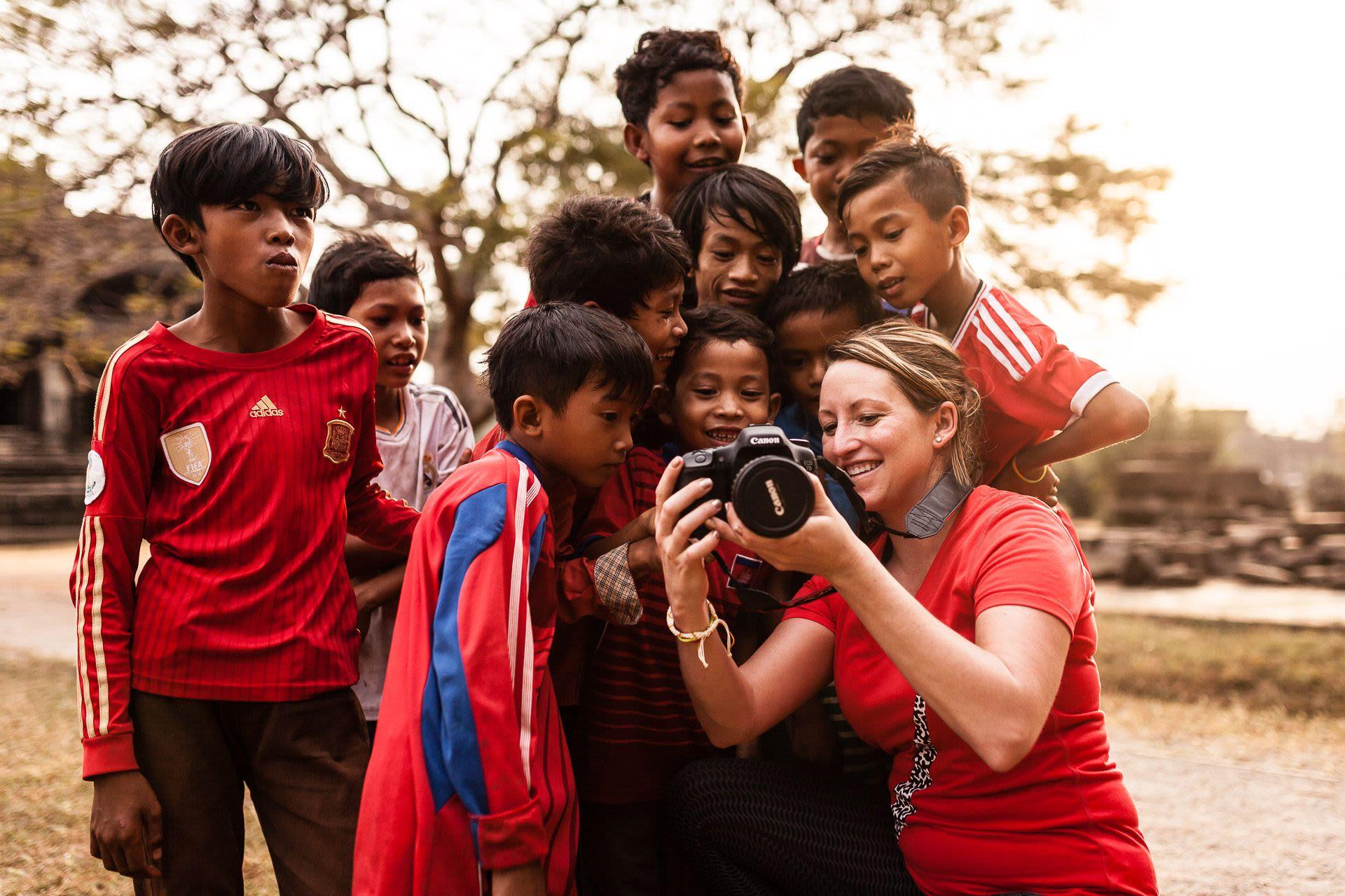 Photo experience on Tonlé Sap Lake