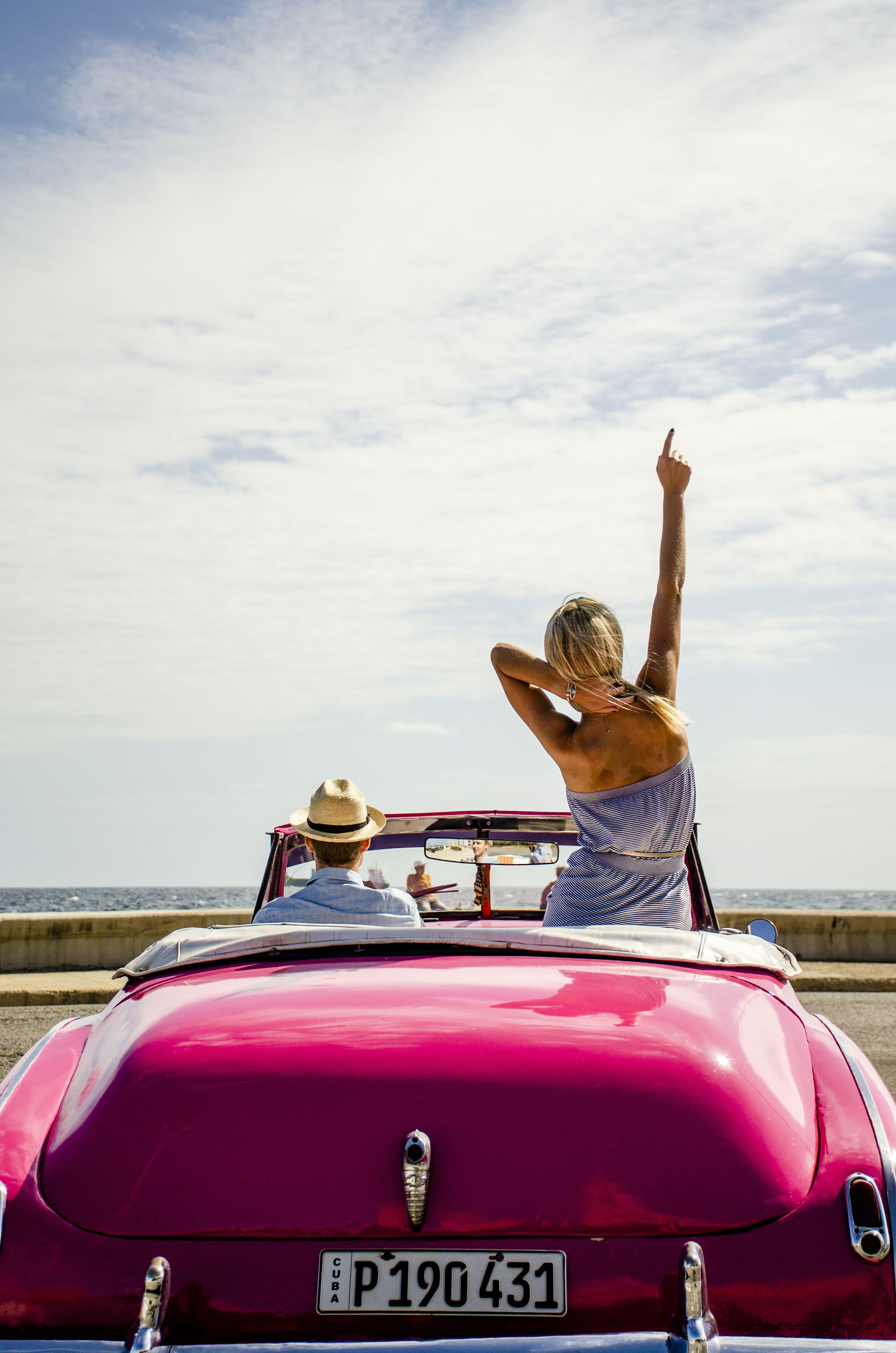 Con sabor a Cuba. Fotos y auto clásico