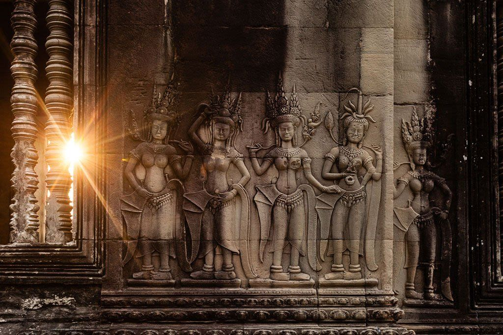 The Temples of Angkor with a photographer
