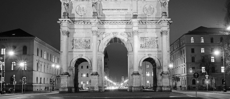 Photowalk Ludwigstraße bei Nacht