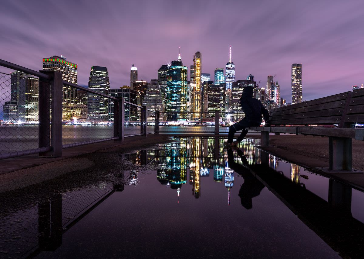 Night photography at Dumbo and Brooklyn Bridge