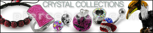 Crystal Piercing Jewelry