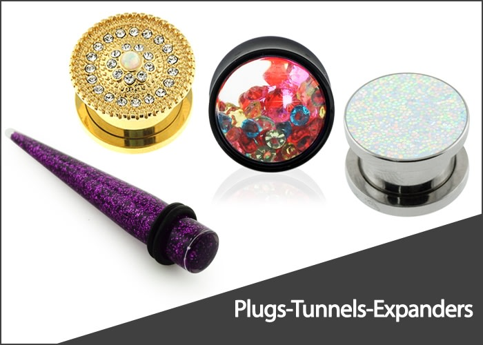 Plugs-Tunnels-Expanders