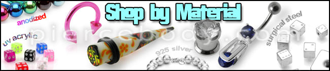 Piercing Jewelry Material