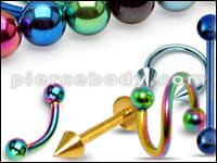 Anodized Jewelry