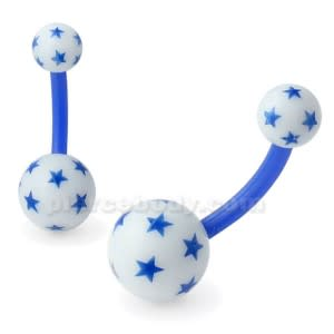 UV Navel Banana with Multi Star UV balls