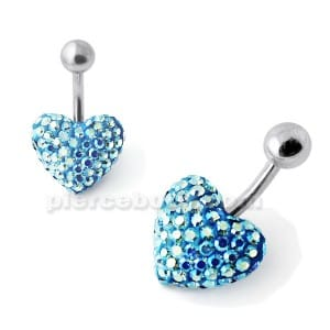 9K Gold Rose Ball End Nose Pin
