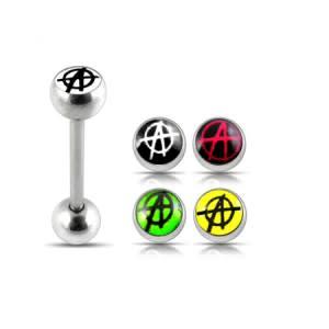 Tongue Bar With Free 4 Pices Interchange Logo Ball Tongue