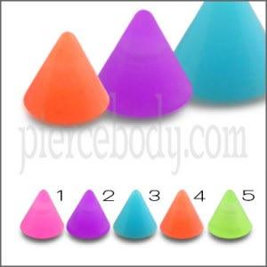 UV Fancy Single Color Cones
