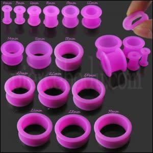 Purple Silicone Ear Plug