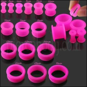 Pink Silicone Ear Plug