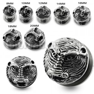 Casting Baboon Screw Fit Flesh Tunnel