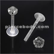 BioFlex Madonna Labret with Flower Top