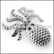 925 Sterling Silver Jeweled octopus Pendant