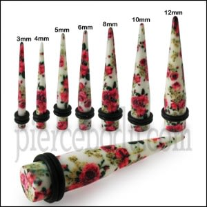 UV Mix Flower Straight Ear taper Expander