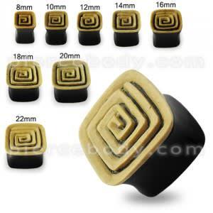 Square Horn Ear Plug