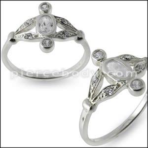 Fashion Korean Bling Crystal Rhinestone Finger Ring