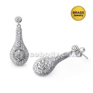 Micro Setting Jeweled Fancy Earring