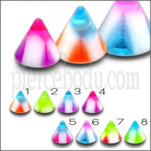 UV Cones Spikes Eyebropw Lip Body Jewelry