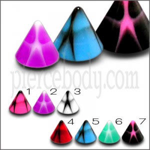 Lip Labret with Fancy UV Acrylic Cone