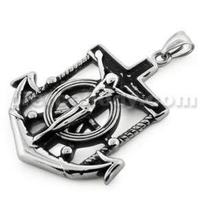 Anchor crucifix Stainless Steel Casting Pendant