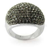 Austrian Green Crystal Stone Finger Ring