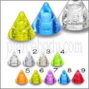 UV Glitter Cones