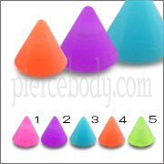 UV Fancy Single Color Cones