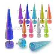 Glitter UV Fake Ear Plug