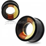 Organic Mixed Multi Wood Ear Plug Gauges