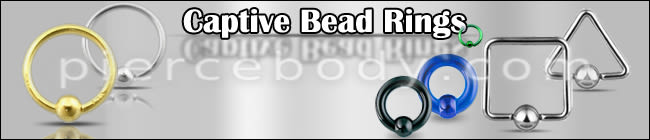 Wholesale Captive Bead Rings