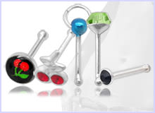 Bone Single Nose Studs