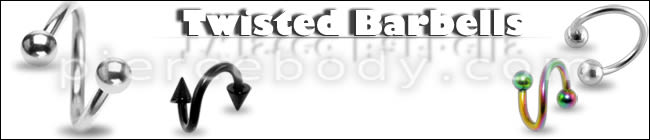Wholesale Twisted Barbells