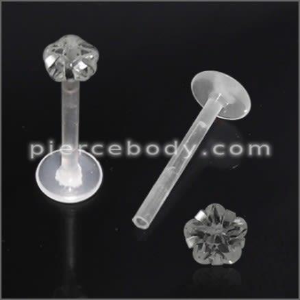 BioFlex Madonna Labret with Flower Top