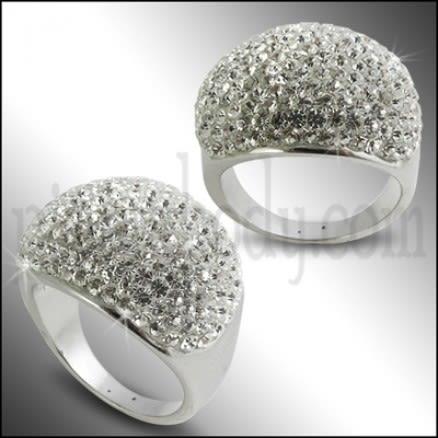 Crystal Finger Ring