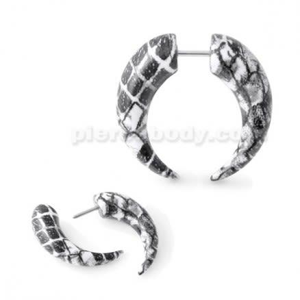 Marble CBB Fake Ear Plug