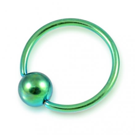 Anodized BCR ring with Ball