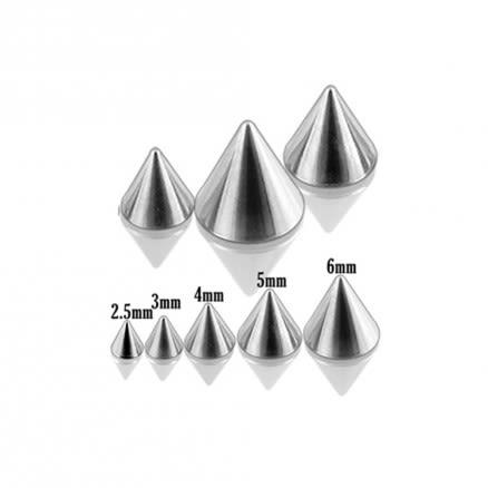 316L Surgical Steel Cones