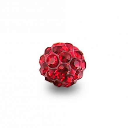 Multi Crystal stone Ball