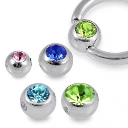 G23 Grade Titanium Jeweled BCR Ball