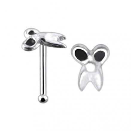 Plain Scissor Ball End Nose Pin