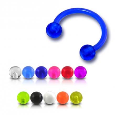 UV Circular Barbell with UV Balls