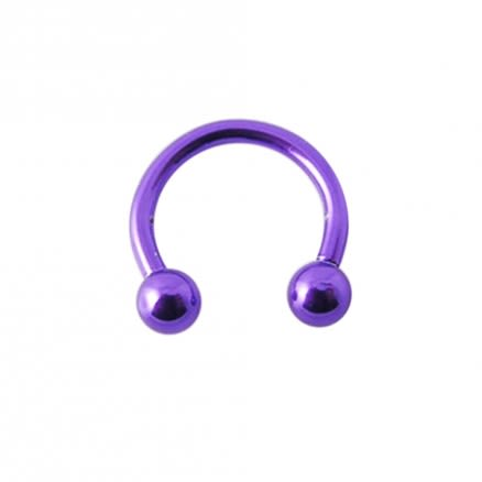 Surgical steel Anodised CBB with Ball