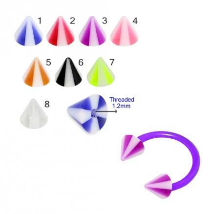 UV Piercing Fancy Cones