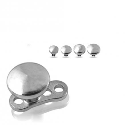Dermal Anchors with Disc Top   Dermal Anchors