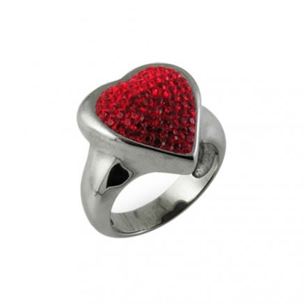 Crystal Heart Finger Ring (Default)Back  Reset  Delete  Duplicate  Save  Save and Continue Edit