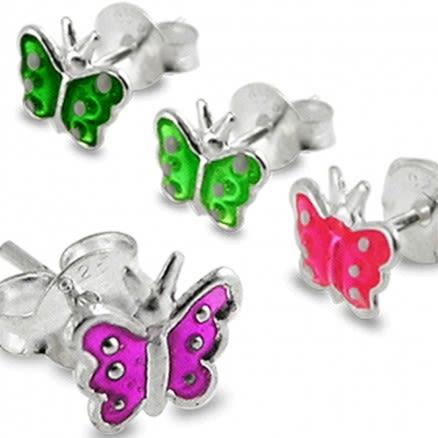 Butterfly Silver Studs Earring
