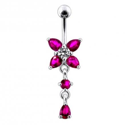 Jeweled Fancy Belly Navel Body Jewelry