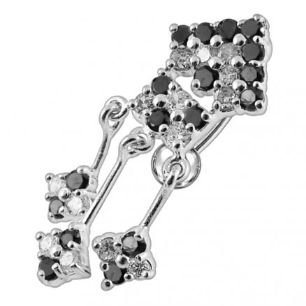 Fashionable Arrow Dangling Belly Ring